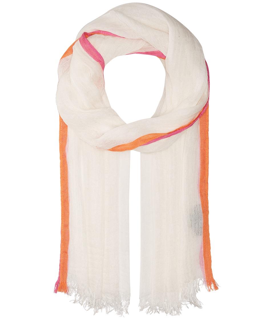 LAUREN Ralph Lauren - Marina Wrap (White) Scarves