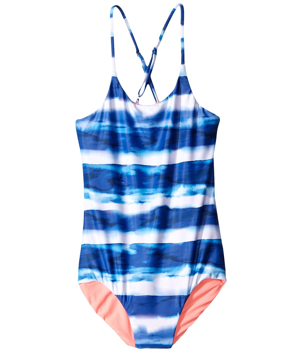 Seafolly Kids - Riviera Belle Tank One-Piece (Little Kids/Big Kids) (Indigo) Girl's Swimsuits One Piece