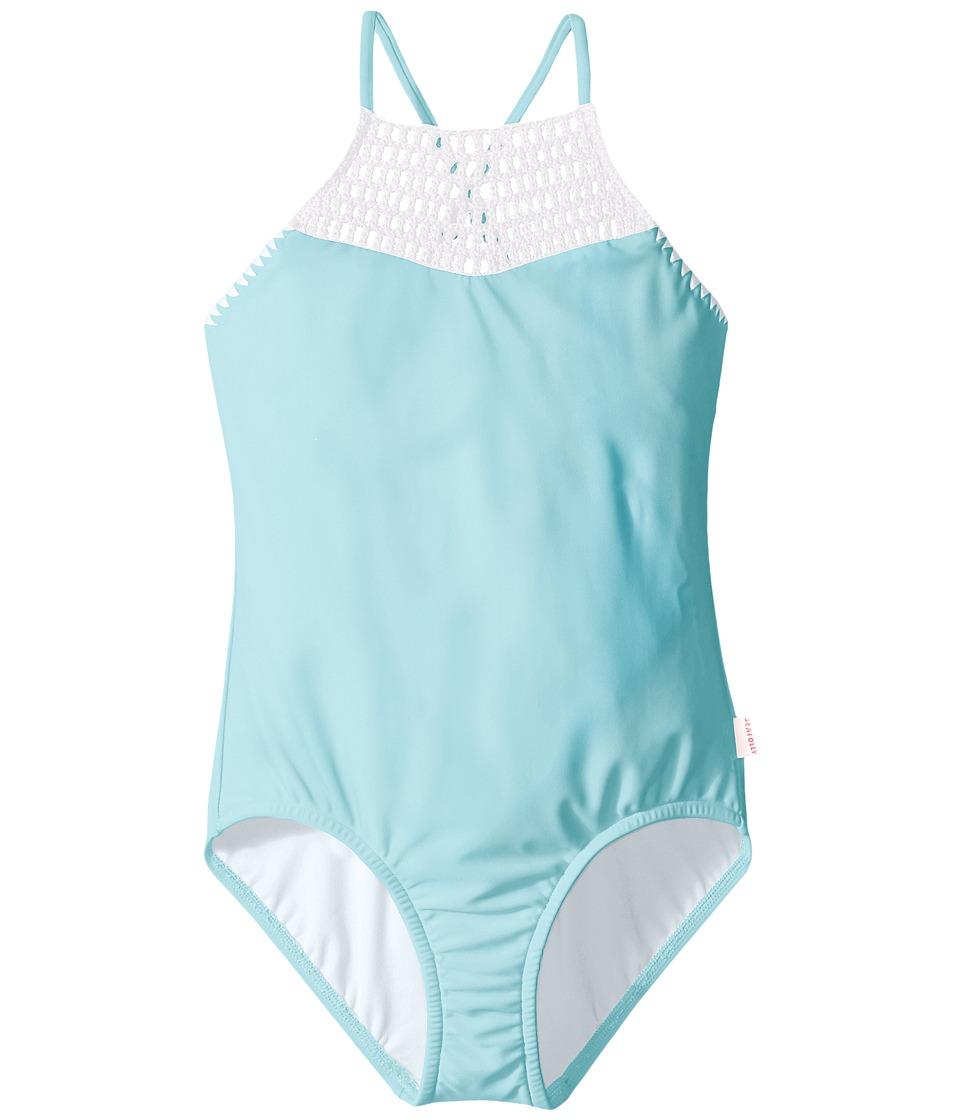 Seafolly Kids - Sundial Tank Top (Little Kids/Big Kids) (Sea Blue) Girl's Swimwear