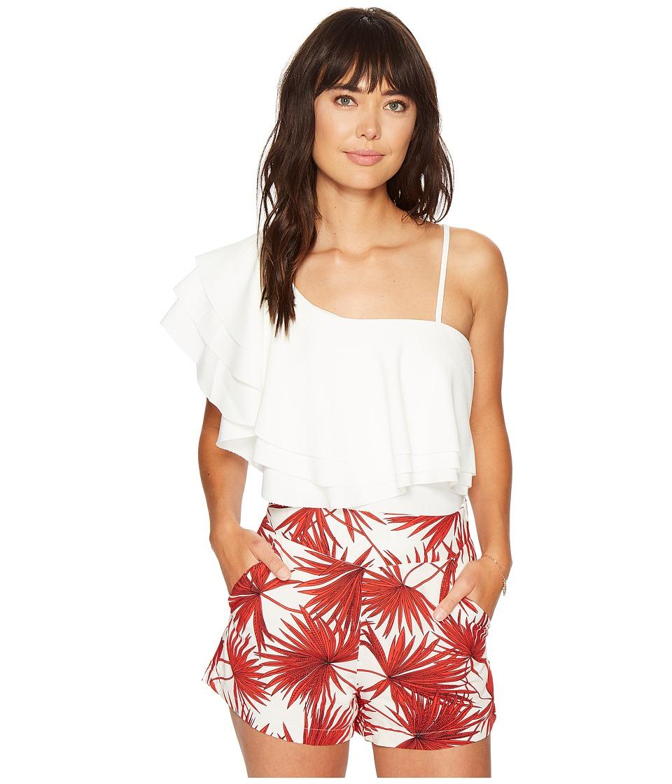 Bishop + Young - Havana Hottie Top (White) Women's Clothing