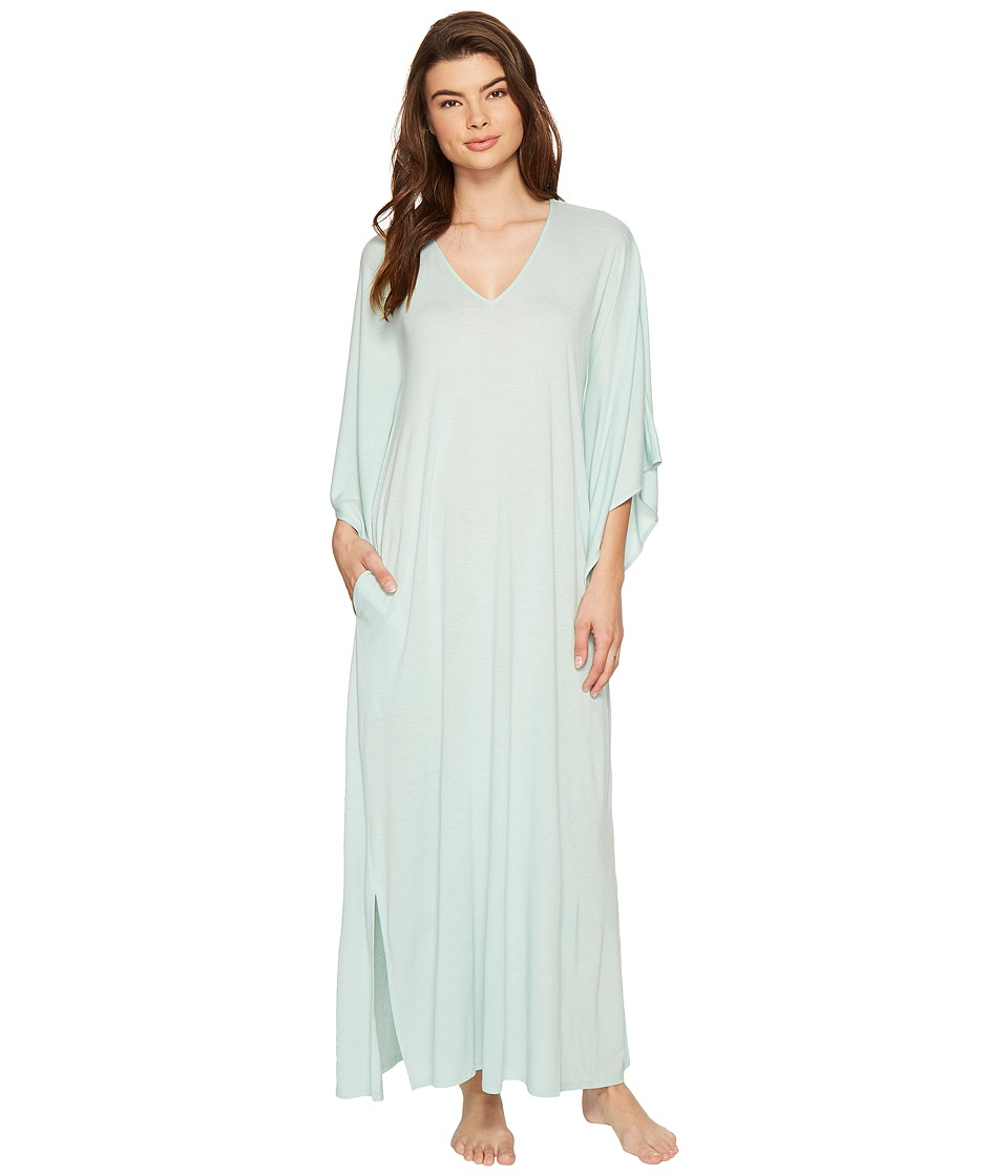 Natori - Shangri-La Caftan (Heather Ocean Wave) Women's Pajama