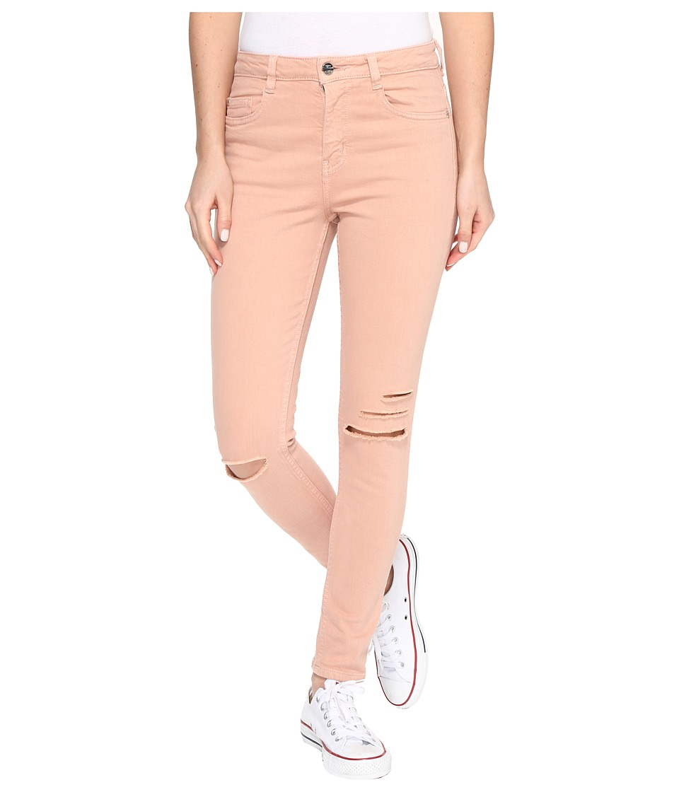 Obey - Slasher Skinny II Denim Jeans (Dusty Coral) Women's Jeans