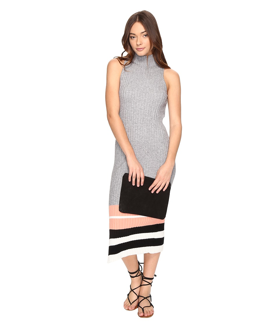Obey - Marina Dress (Heather Grey) Women's Dress