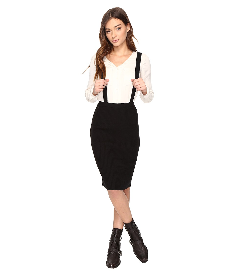 Obey Margot Skirt (Black) Women