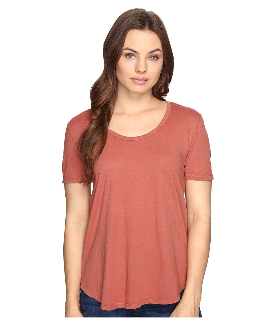 Obey - Madison Scoop Neck Tee (Rose Dawn) Women's T Shirt