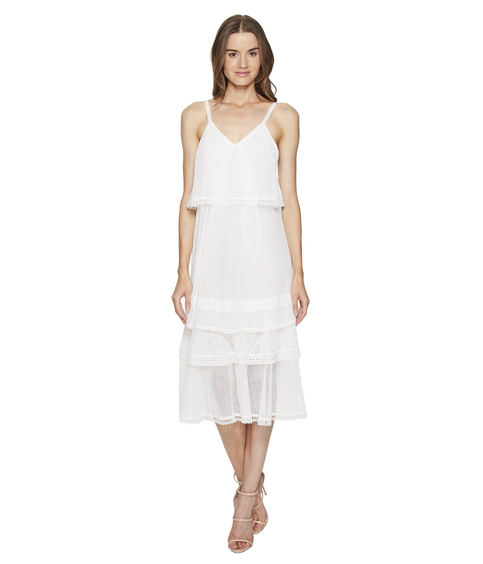 Jonathan Simkhai Cotton Voile Slip Dress Cover-Up (White) Women