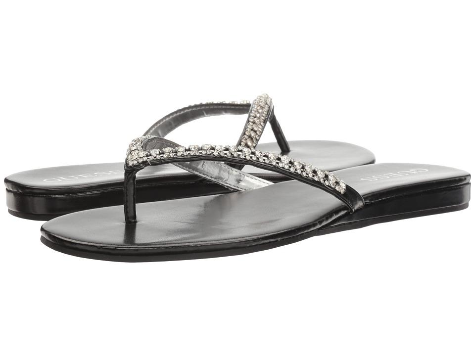 GUESS - Jasper (Black/Silver) Women's Sandals