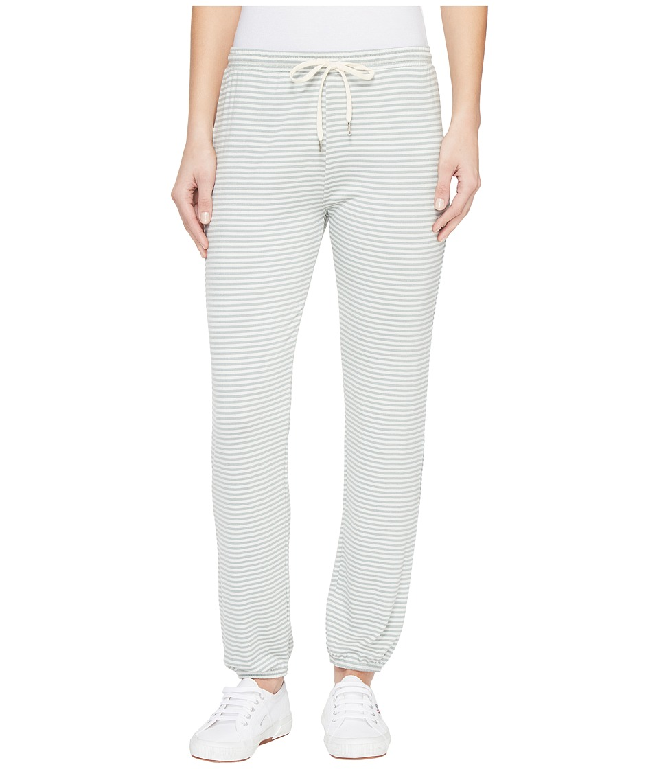 Obey - Easy Street Sweatpants (Sea Fog Stripe) Women's Casual Pants