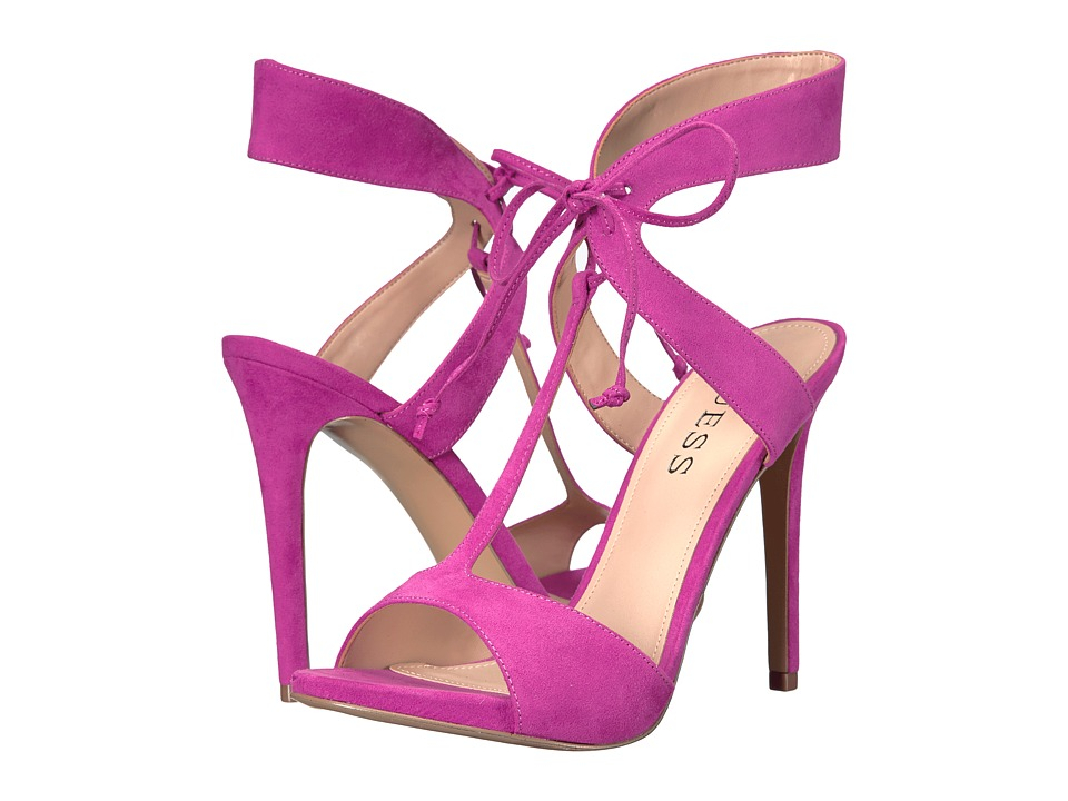 GUESS Alexes Dark Pink High Heels