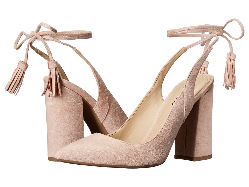GUESS - Brita (Silver/Pink) Women's Shoes