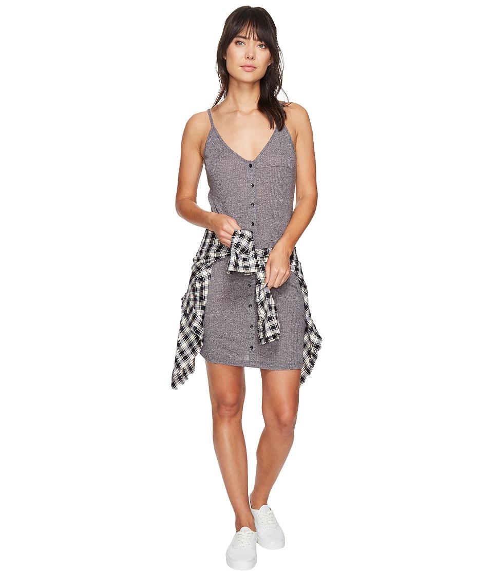 Obey - Barbados Dress (Heather Grey) Women's Dress