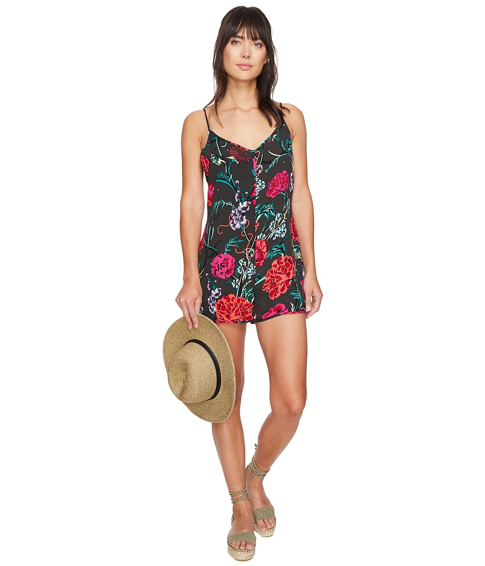 Obey - Jinx Playsuit (Black Multi) Women's Jumpsuit & Rompers One Piece