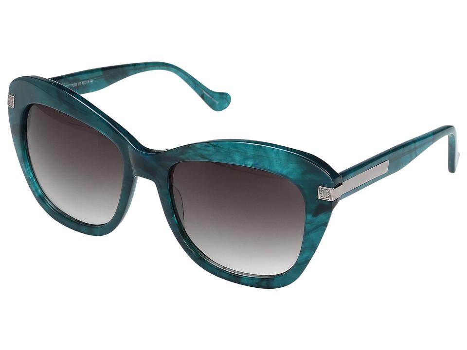 Ivanka Trump - IT 503 (Teal Marble) Fashion Sunglasses