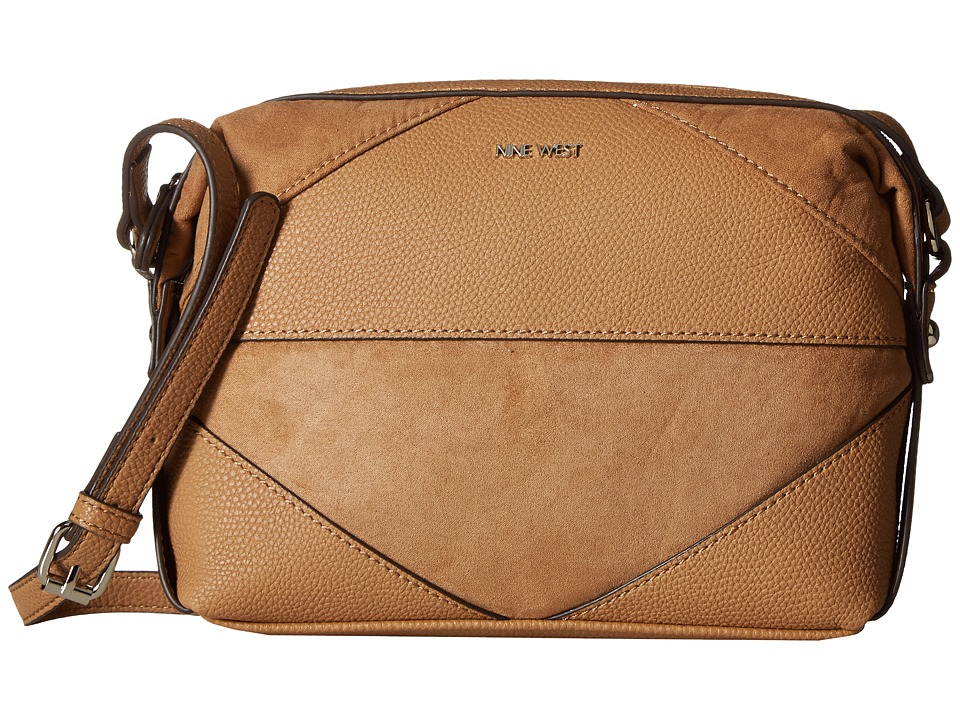 Nine West - It's A Tie (Dark Camel/Dark Camel) Handbags