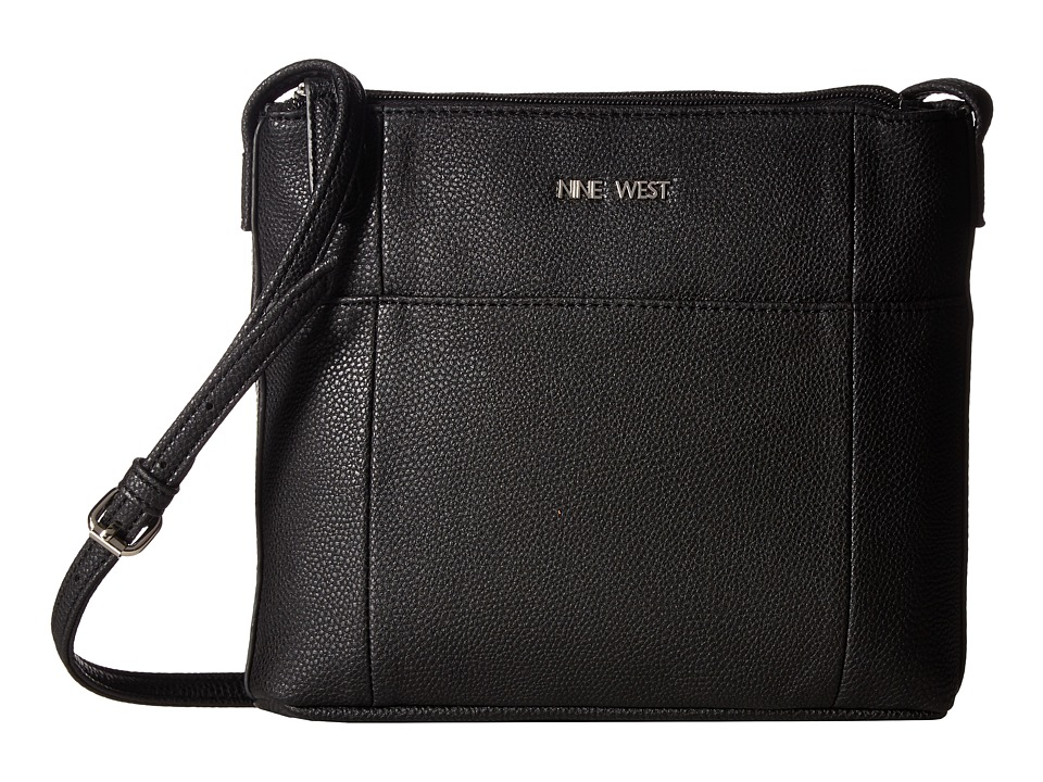 Nine West - Draw Me In (Black/Black/Black) Handbags