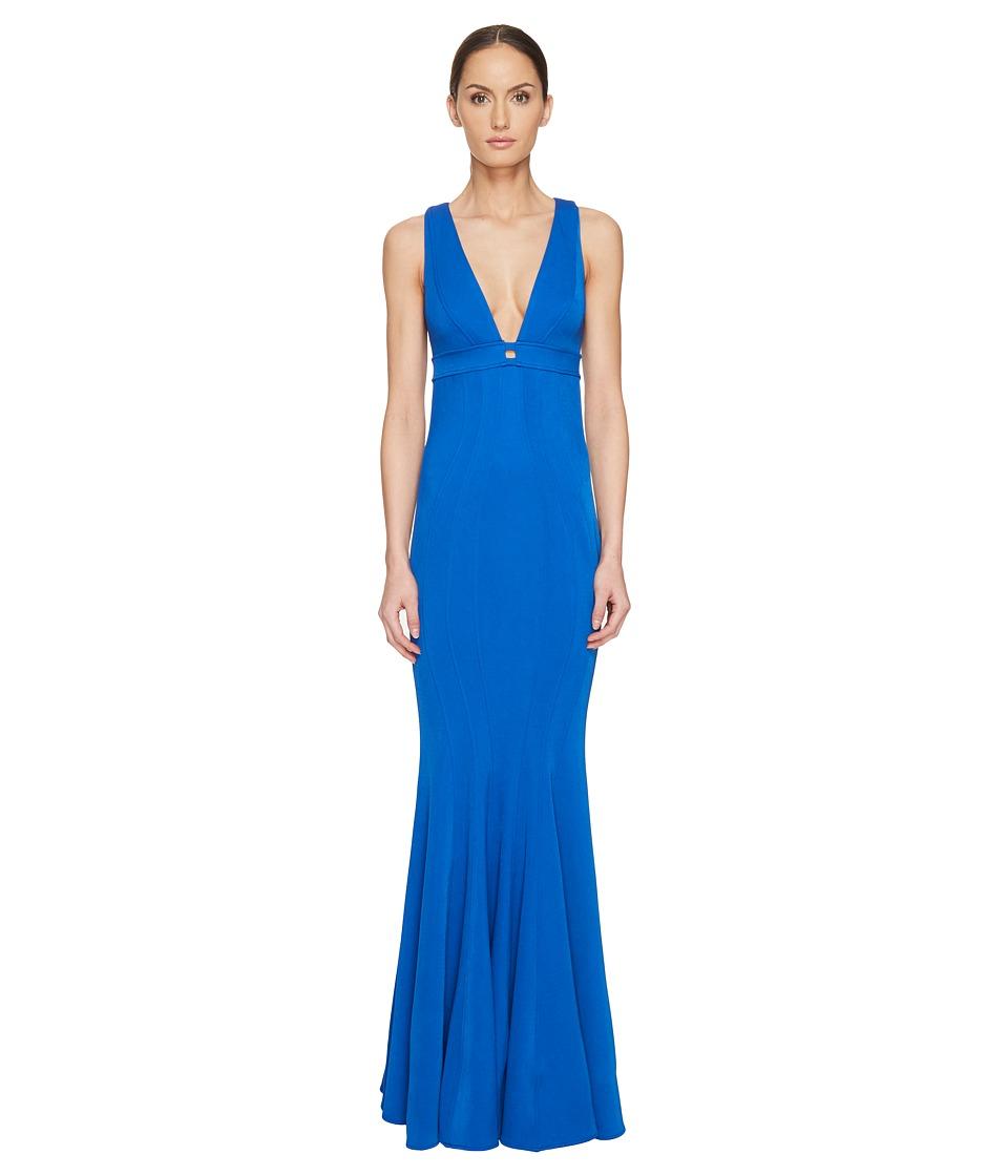 ZAC Zac Posen - Ariana Gown (Pacific) Women's Dress