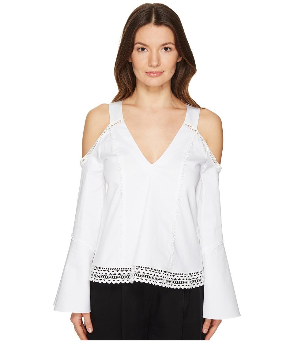 ZAC Zac Posen - Jordy Blouse (White) Women's Clothing