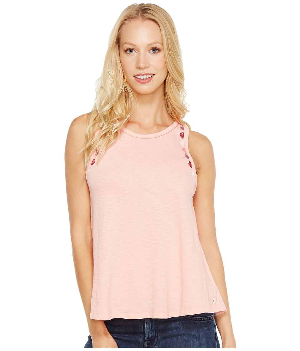 Lucky Brand - Embroidered Tank Top (Powder Pink) Women's Pajama