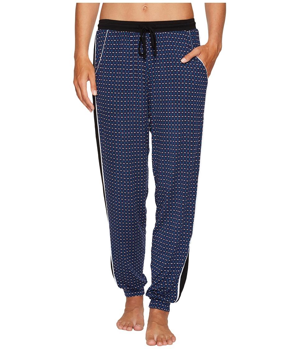 DKNY - Jogger Pants (Navy Print) Women's Pajama
