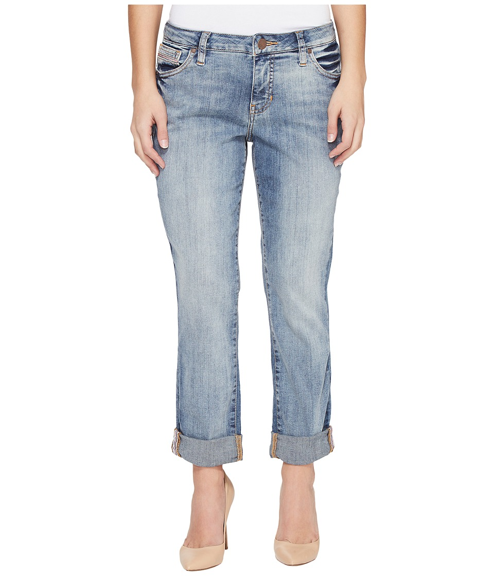 Jag Jeans Petite - Petite Alex Boyfriend Platinum Denim in Saginaw Blue (Saginaw Blue) Women's Jeans