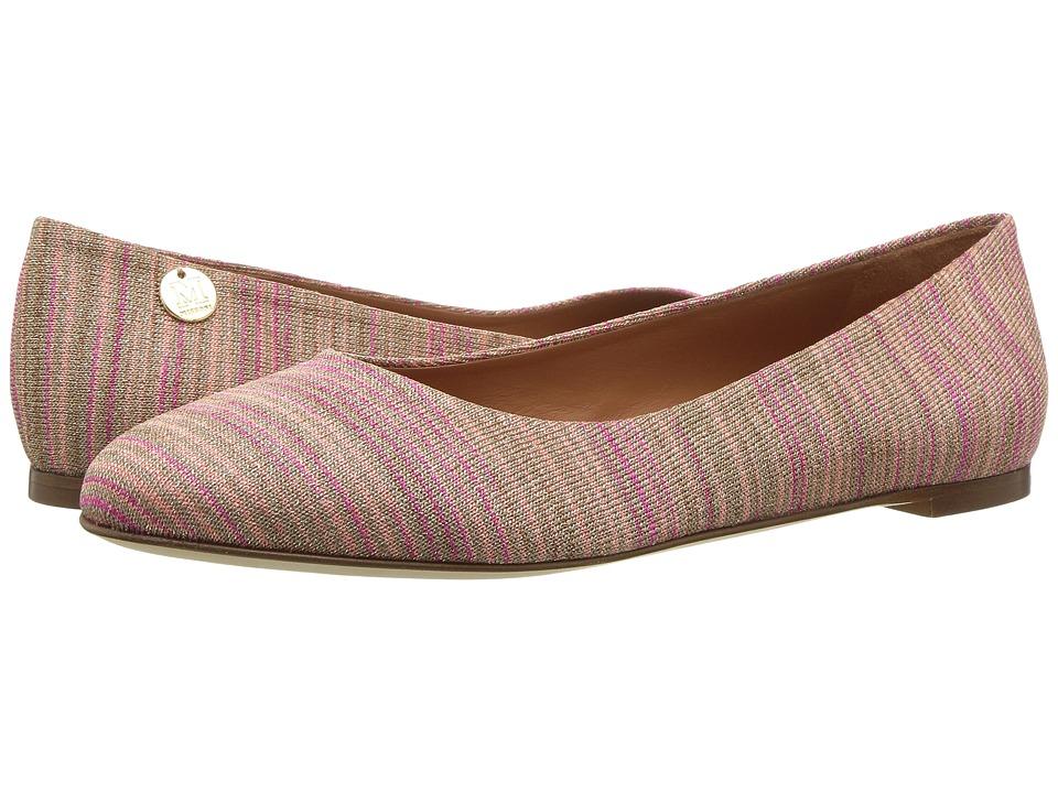 M Missoni - Lurex Spacedye Flat (Blush) Women's Shoes