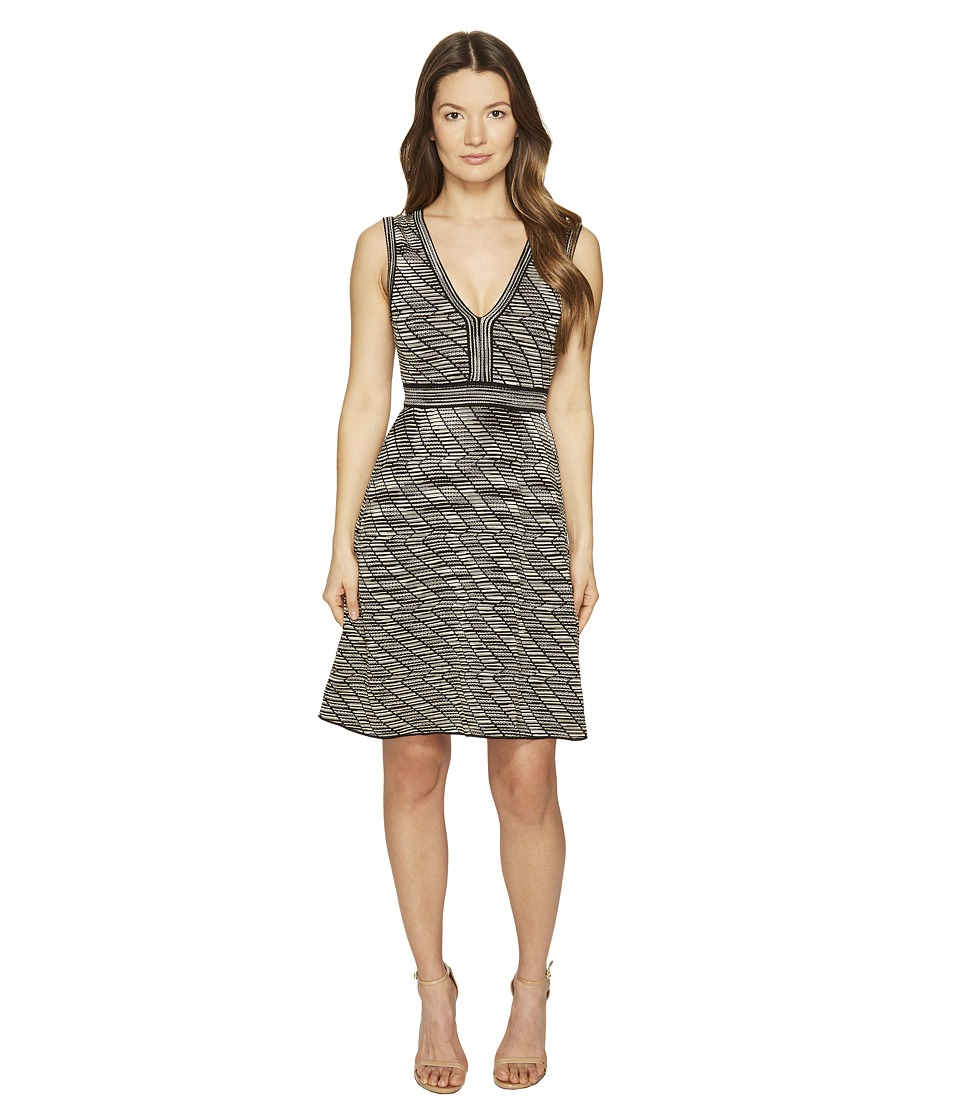 M Missoni Spacedye V-Neck Dress