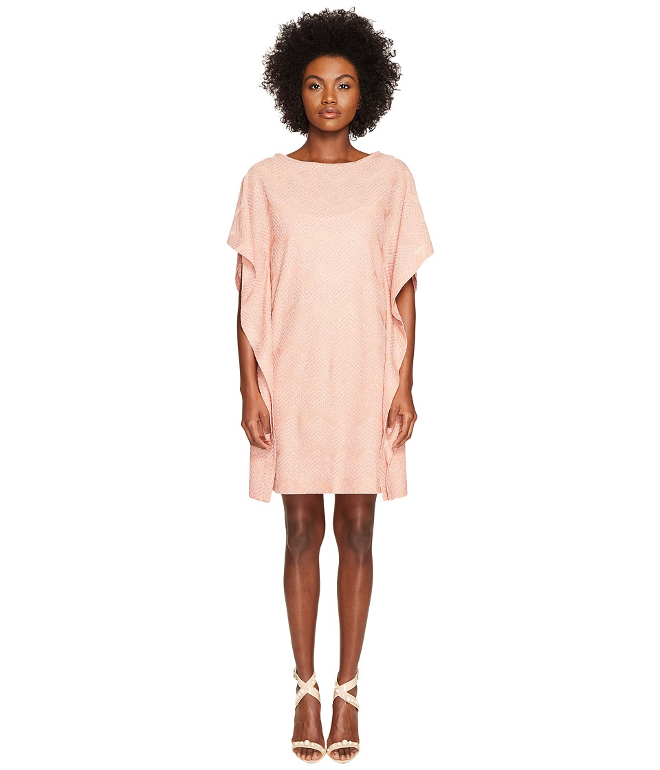 M Missoni - Lurex Jersey Dress (Blush) Women's Dress