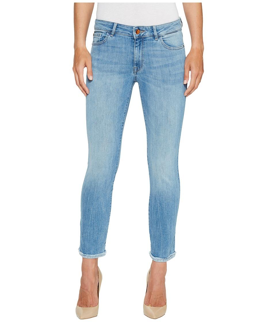 DL1961 - Mara Instascultp Straight Leg Ankle Crop Jeans in Fortune (Fortune) Women's Jeans