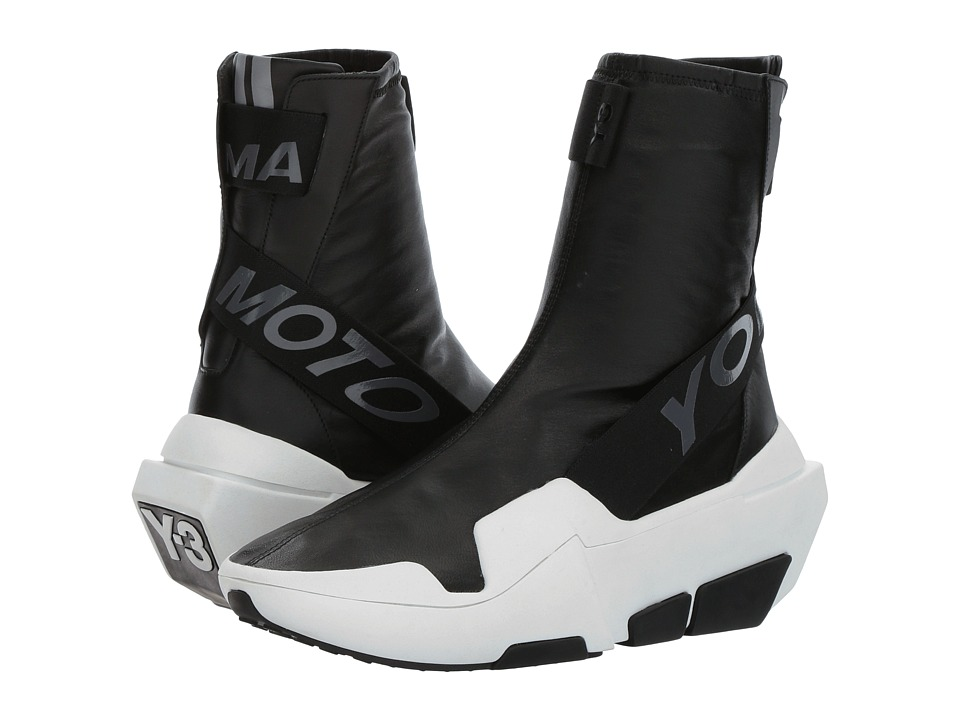 adidas Y-3 by Yohji Yamamoto - Y-3 Mira Boot (Core Black/Core Black/FTW White) Women's Shoes