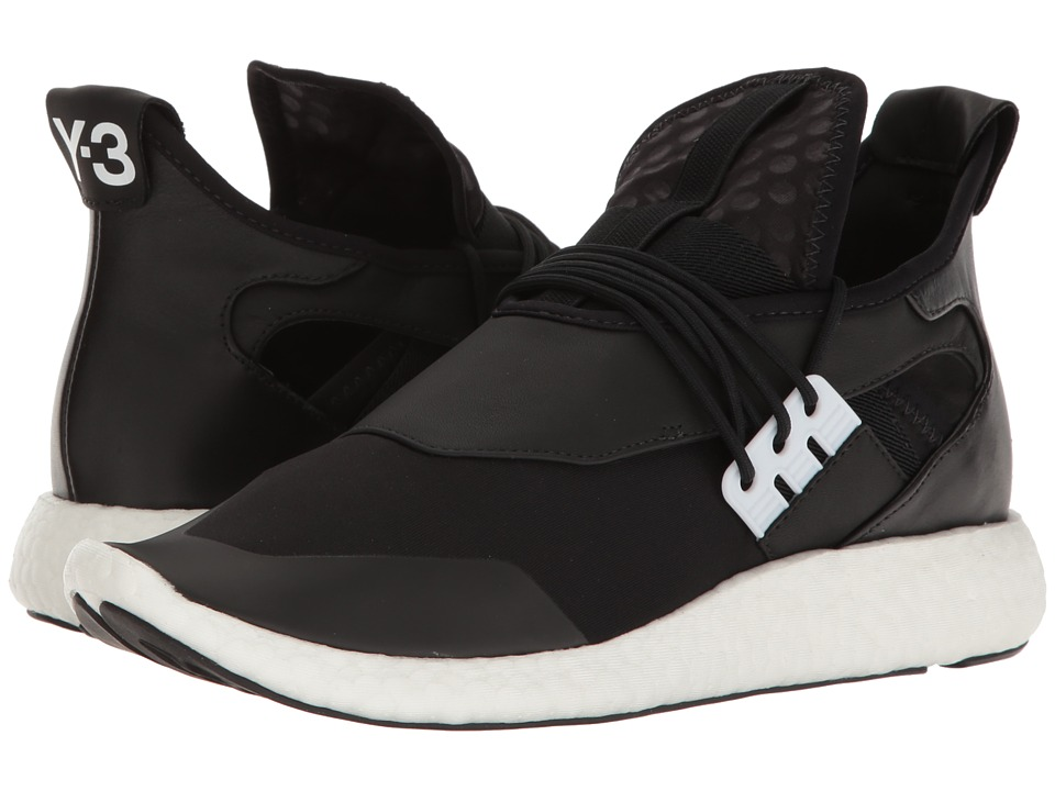 adidas Y-3 by Yohji Yamamoto - Y-3 Elle Run (Core Black/Core Black/FTW White) Women's Running Shoes