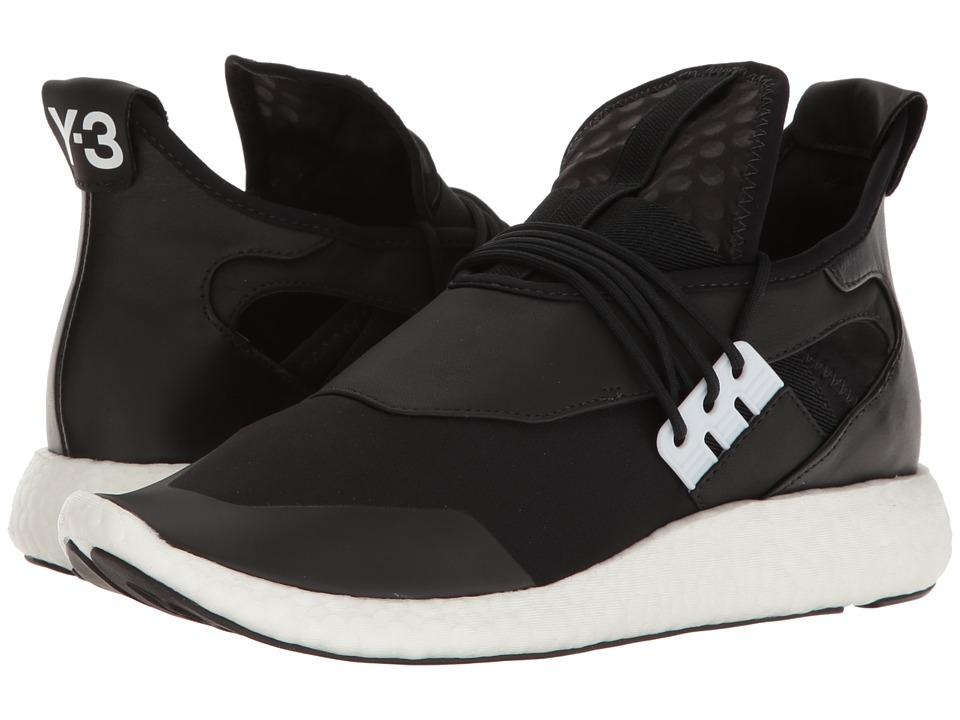 adidas Y-3 by Yohji Yamamoto - Y-3 Elle Run (Core Black/Core Black/FTW White) Women's Running Shoes
