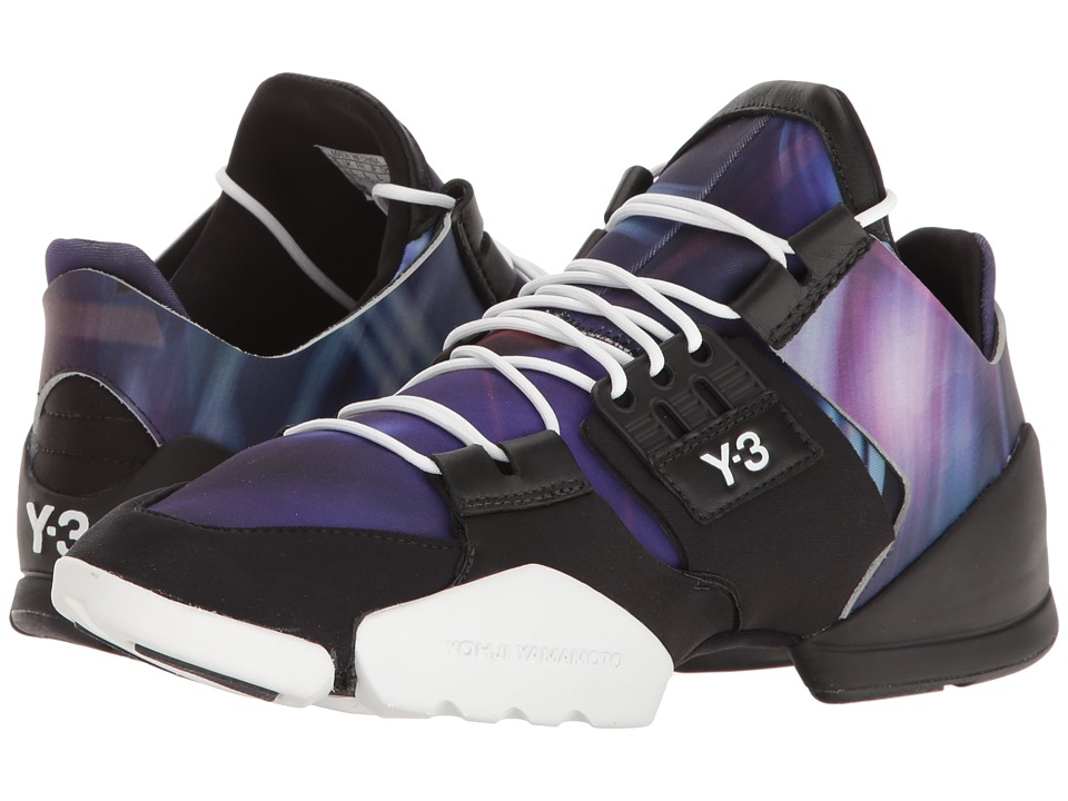 adidas Y-3 by Yohji Yamamoto - Y-3 Kanja (Aop Continuum/Aop Continuum/Core Black) Women's Shoes