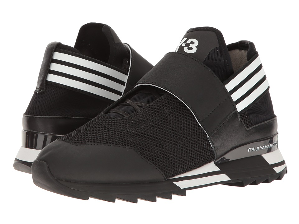 adidas Y-3 by Yohji Yamamoto - Y-3 Atira (Core Black/Ftw White/Core Black) Women's Shoes