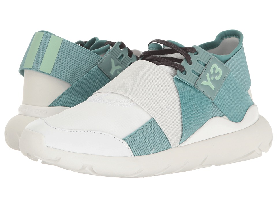 adidas Y-3 by Yohji Yamamoto Y-3 Qasa Elle Lace (Ftw White/Vapour Steel/Crystal White) Women