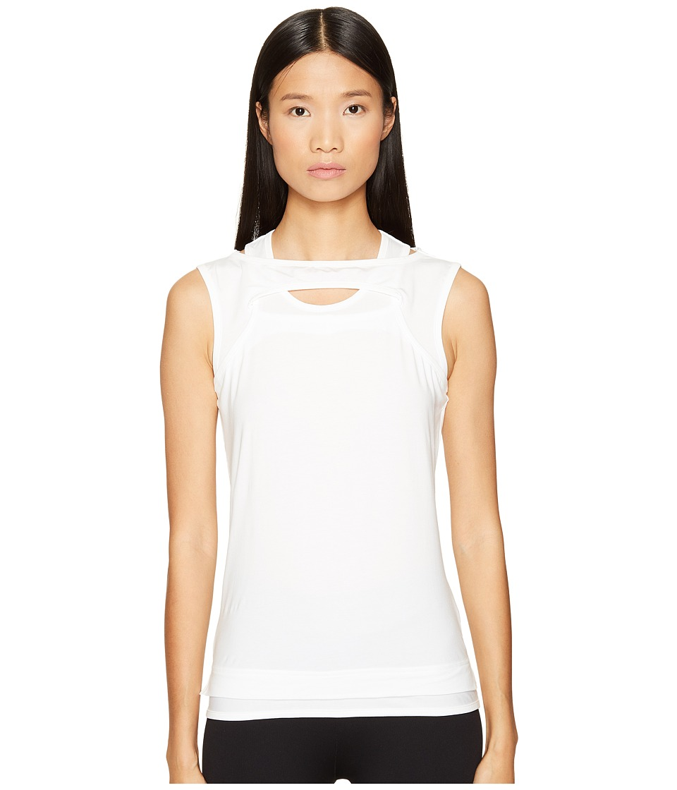 adidas Y-3 by Yohji Yamamoto - Nomadic Tank Top (White) Women's Sleeveless