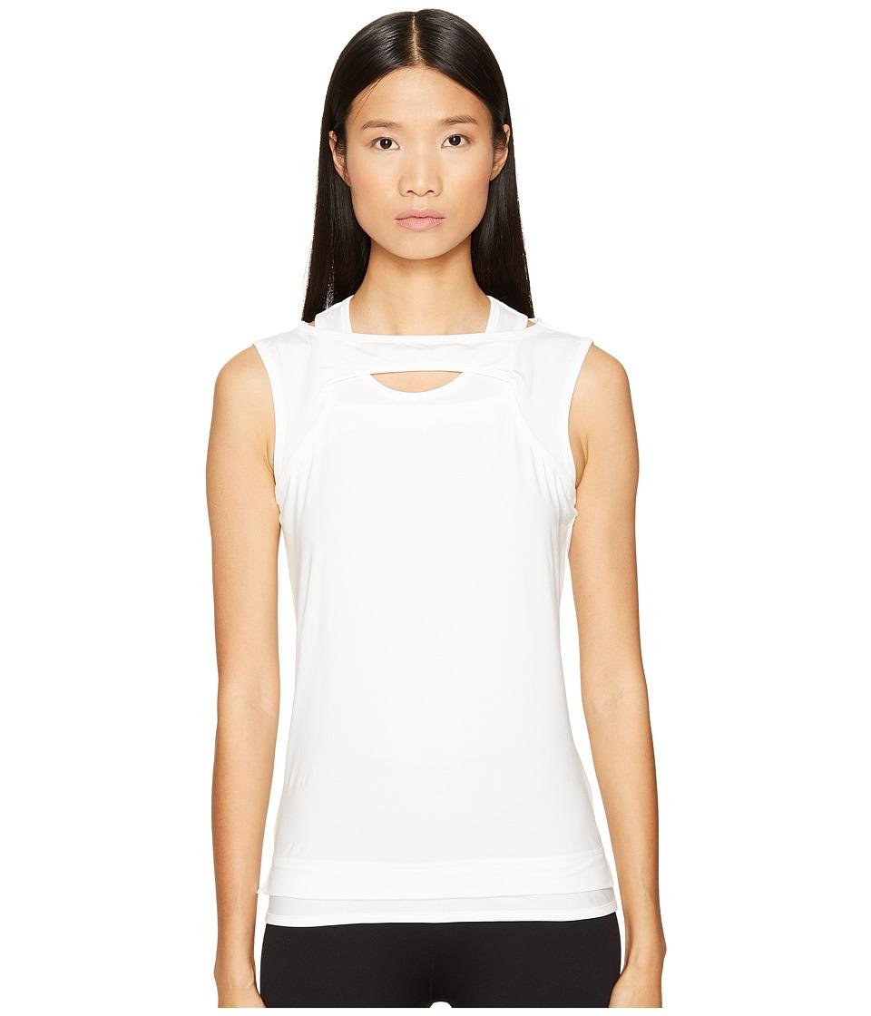 adidas Y-3 by Yohji Yamamoto - Nomadic Tank Top (White) Women's Sleeveless