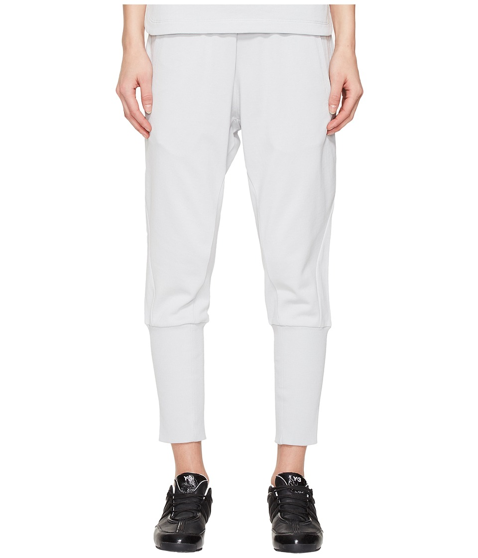 adidas Y-3 by Yohji Yamamoto - Force Pants (Light Grey Heather Solid Grey) Women's Casual Pants
