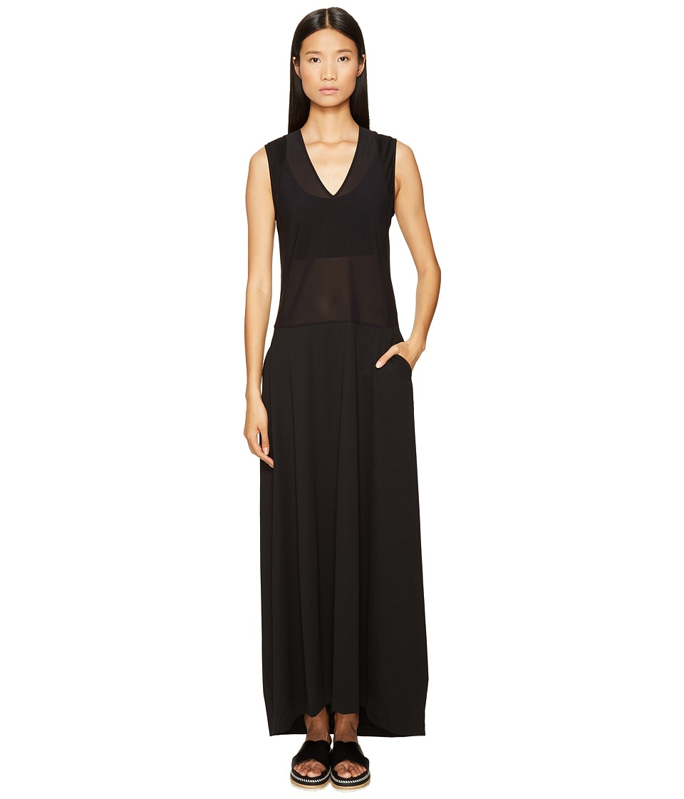 adidas Y-3 by Yohji Yamamoto - Elegant Dress (Black) Women's Dress