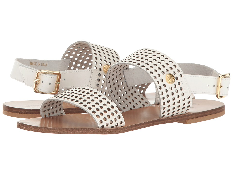 LOVE Moschino Perforated Sandal (White) Women