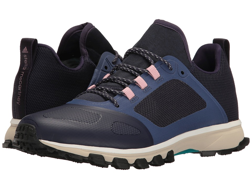 Image of adidas by Stella McCartney - Adizero Xt (Noble Ink/Deepest Ink/Dusk Pink) Women's Running Shoes