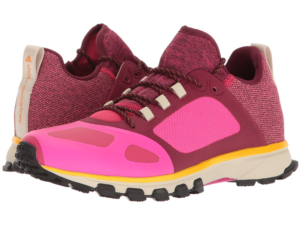 adidas by Stella McCartney - Adizero Xt (Shock Pink/Ruby Red/Cherry Wood) Women's Running Shoes