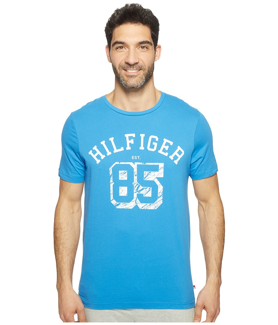 Tommy Hilfiger - Hilfiger EST 85 Graphic Tee - Flat Pack (Cornflower Blue) Men's Underwear