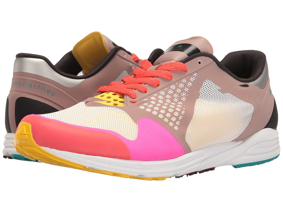 adidas by Stella McCartney - Adizero Takumi (Dusk Pink/Vapour Grey/Shock Pink) Women's Shoes