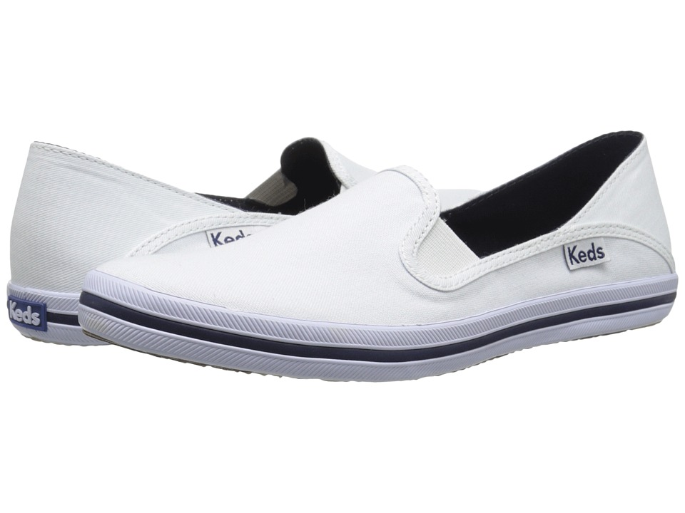 Keds - Crashback (White) Women's Shoes