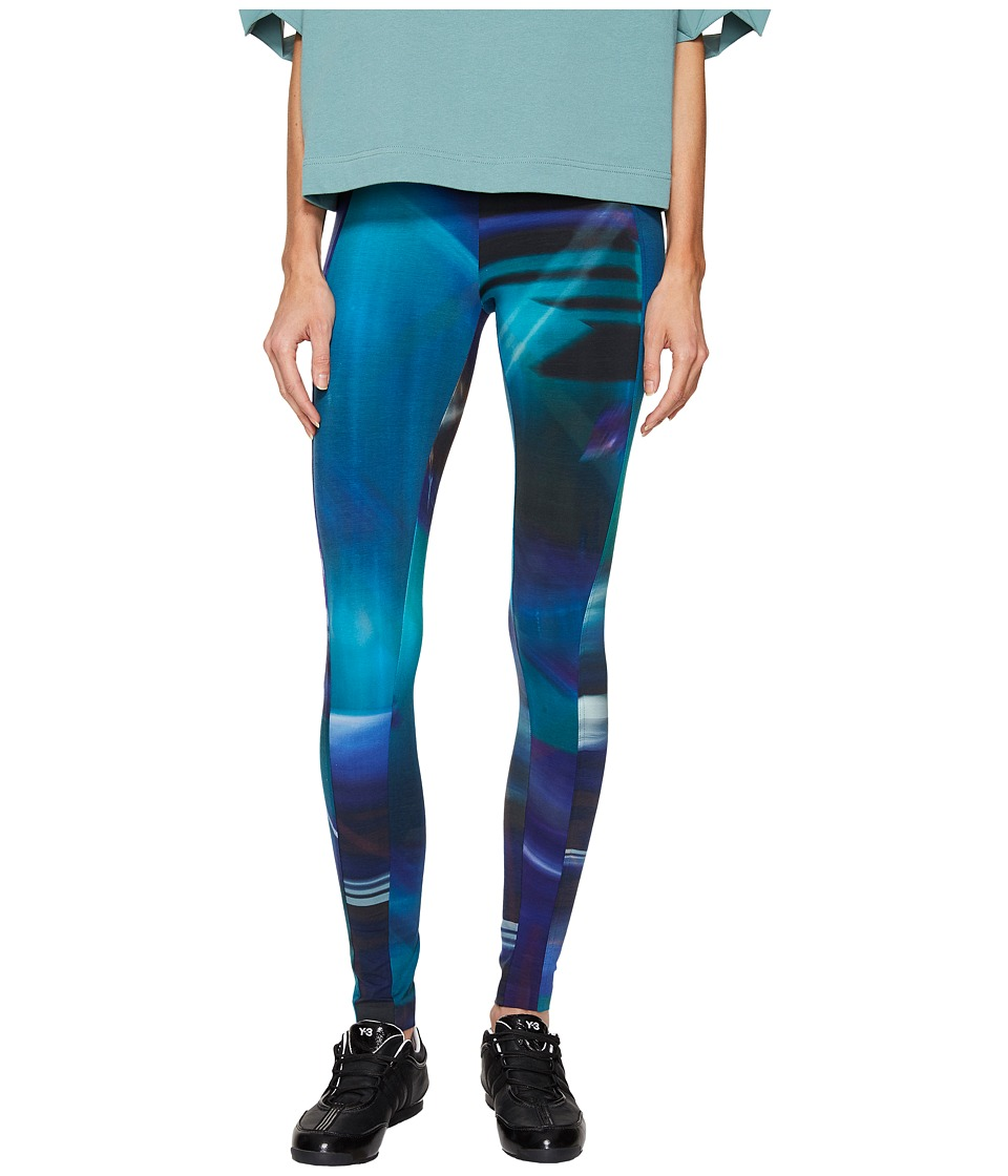 adidas Y-3 by Yohji Yamamoto - AOP Leggings (AOP Continuum) Women's Clothing