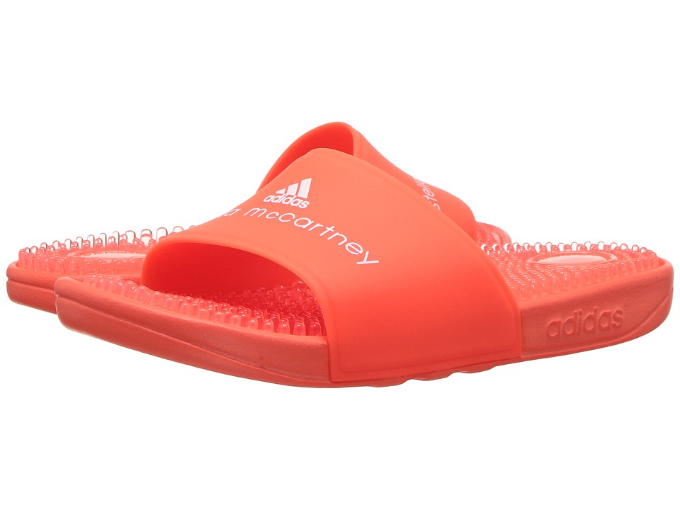 adidas by Stella McCartney - Recovery Slide (Core Red/Core Red/Ftwr White) Women's Shoes