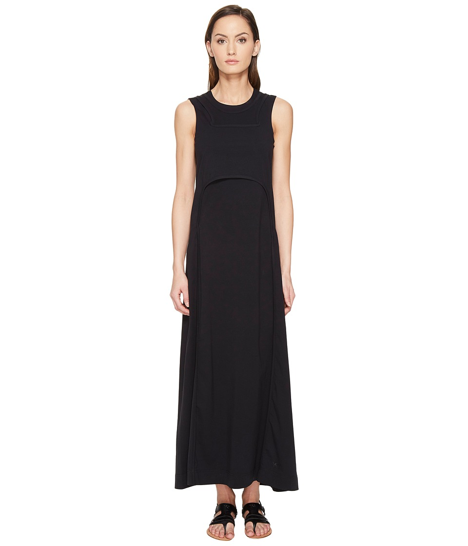 adidas Y-3 by Yohji Yamamoto - Jersey Dress (Black) Women's Dress