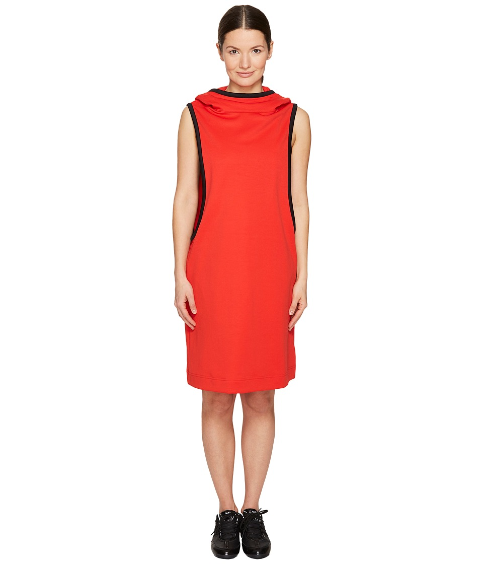 adidas Y-3 by Yohji Yamamoto - Track Dress (Flame Scarlet) Women's Dress
