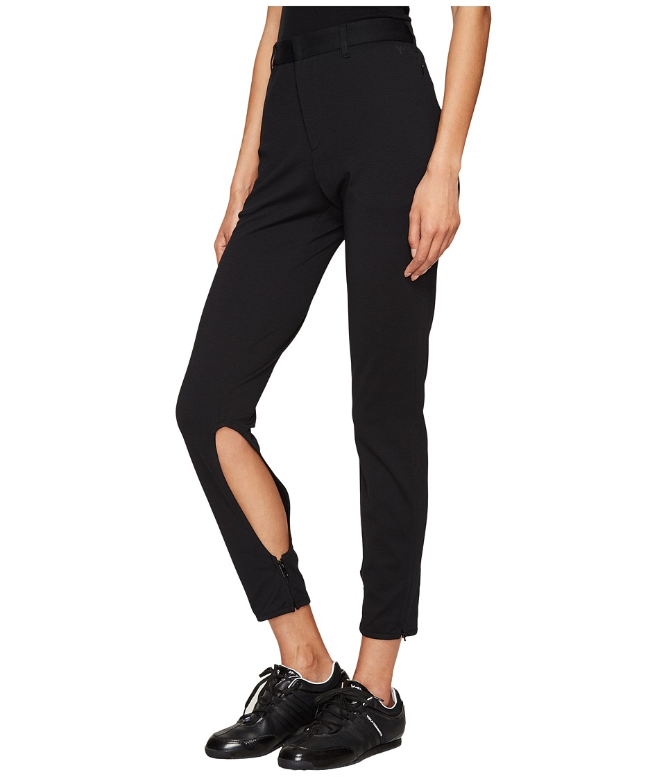 adidas Y-3 by Yohji Yamamoto - Lux Pants (Black) Women's Casual Pants