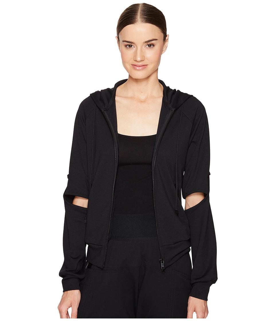 adidas Y-3 by Yohji Yamamoto - Lux Hoodie (Black) Women's Sweatshirt